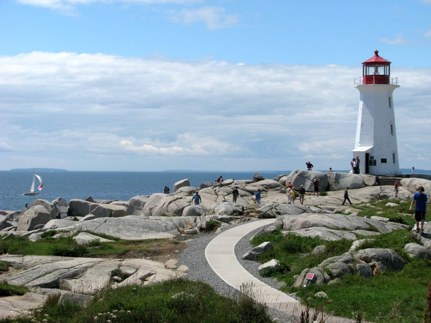 Peggy's Cove Lighthouse - Canada RV Tours