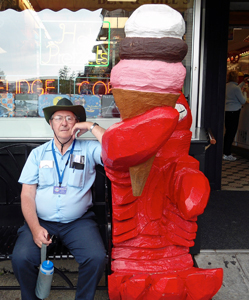 RVers Taste Lobster Ice Cream
